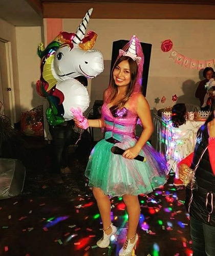 animación de cumpleaños con unicornio equestria girls.