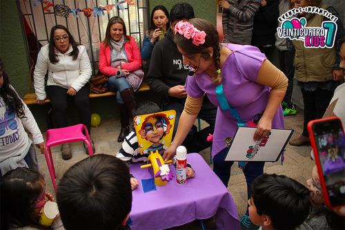 animación de cumpleaños infantiles para rancagua