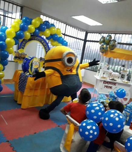 animación de cumpleaños minions. masha. toy story. spiderman
