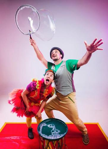 animacion de cumples-zancos-circo y burbujas gigantes!