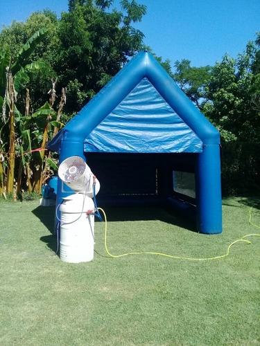 animación, espuma, inflable, verano, fiesta agua