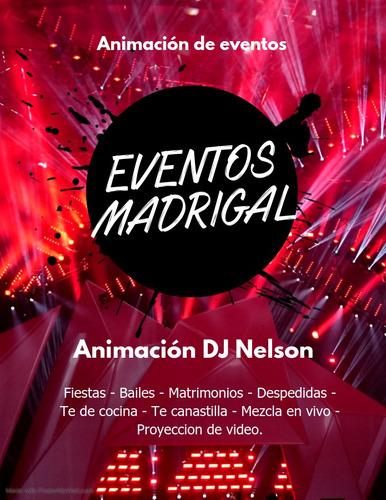 animación eventos madrigal