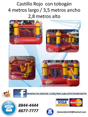 animacion fiesta alegre inflables trampolin