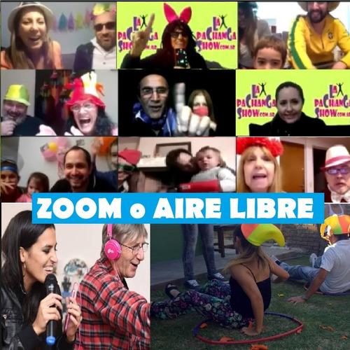 animacion infantil a domicilio aire libre plaza zoom virtual