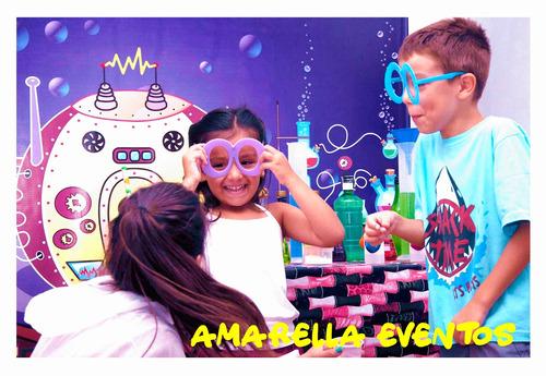 animación infantil ciencia shows científicos y burbujas gig