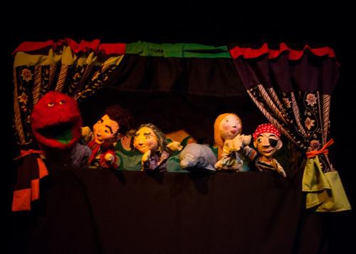 animacion infantil con teatro de títeres