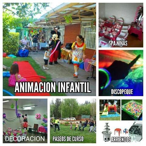 animacion infantil pintitas, spa, discopeque y mucho mas!!
