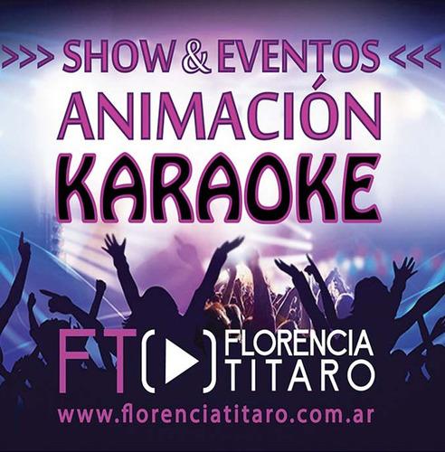 animación karaoke show cantante eventos fiestas