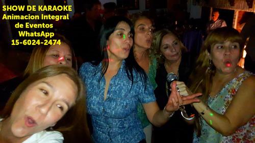 animacion para fiestas en zona sur dj luces animador karaoke