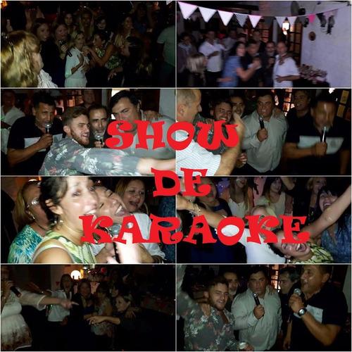 animacion para fiestas en zona sur karaoke juegos mini disco