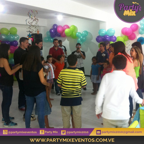 animación, recreadores infantiles, muñecotes-party mix