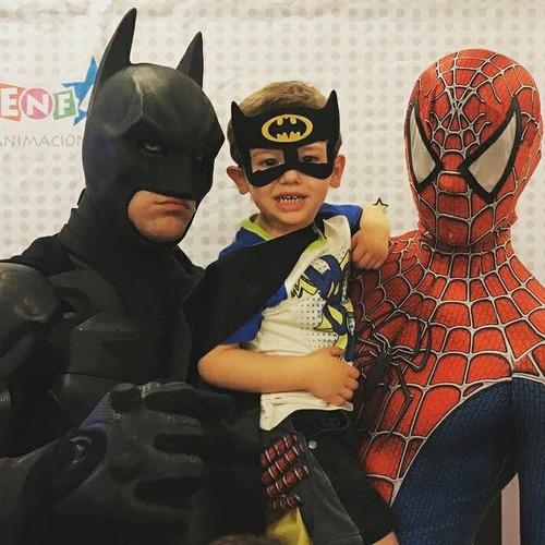 animacion superheroes hombre araña ironman batman y mas
