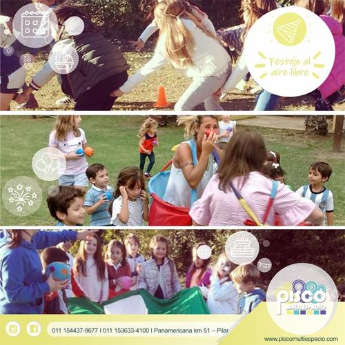 animaciones a domicilio infantiles en pilar - zona norte