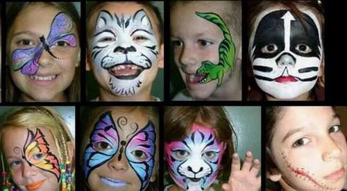 animaciones fiestas maquillaje artistico,