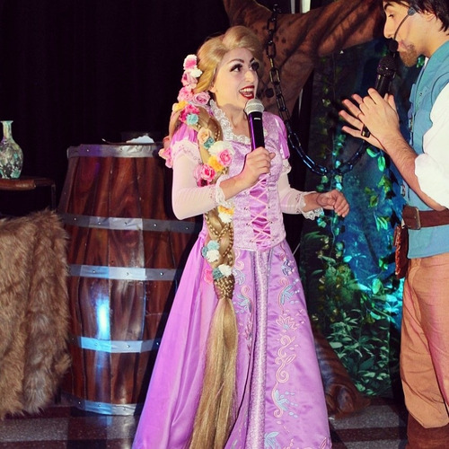 animaciones infantiles rapunzel enredados show eventos