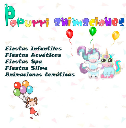 animaciones para eventos - popurri