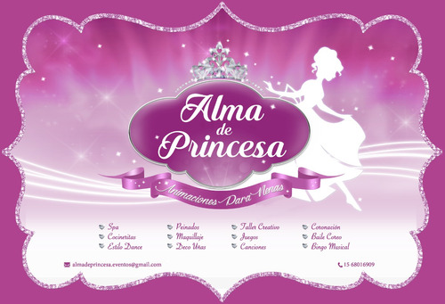animaciones para nenas alma de princesa