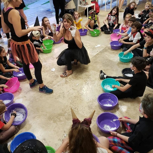 animaciones slime party!!! talleres slime promo!!