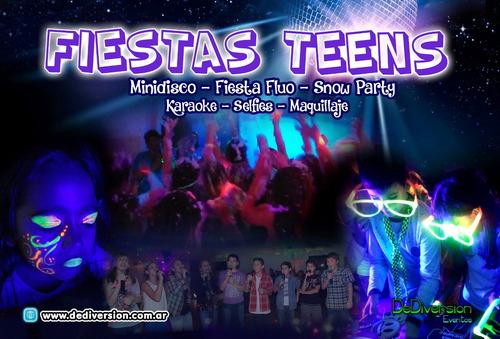 animaciones, teens, adultos, minidisco, karaoke,acuáticas