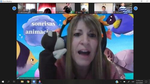 animaciones zoomples - cumples virtuales zoom personajes