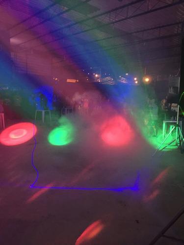 animação de festa, som, dj, iluminações e personagem vivo