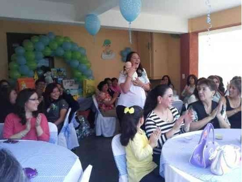 animadoras para baby shower en cdmx