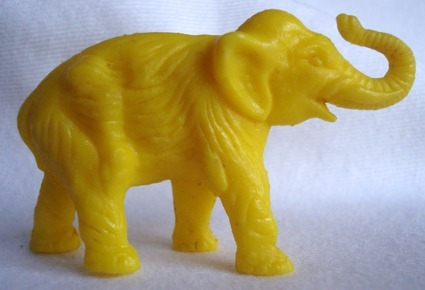 animal áfrica anos 80 elefante amarelo