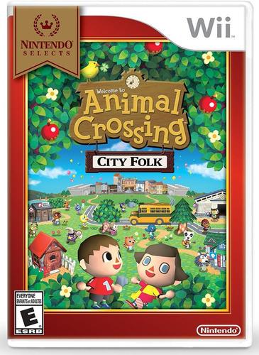 animal crossing city folk seminuevo envío gratis sin celofan