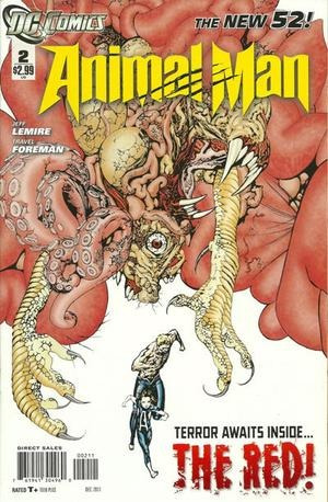 animal man nº2 - the new 52 - ingles - novedad