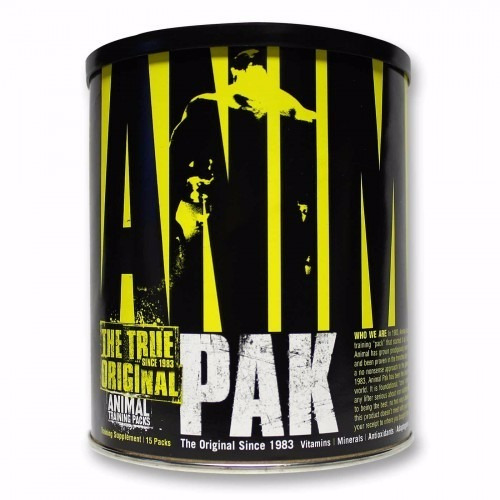 animal pak 15 packs - universal - pack de entrenamiento