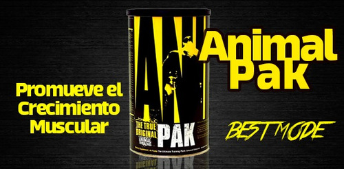 animal pak 44 packs universal multivitaminico+ envio gratis