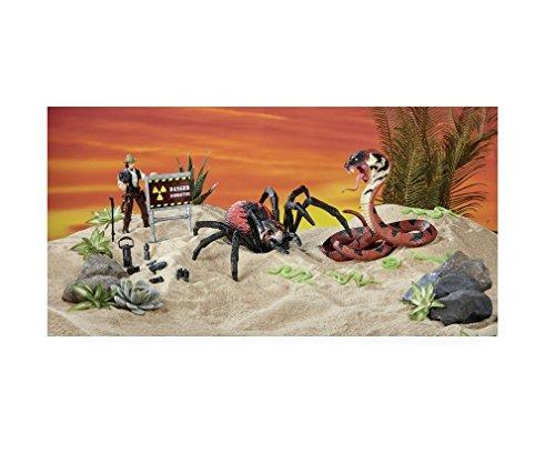 animal pnet araña gigante y cobra playset