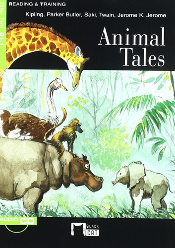 animal tales - b1.1 - reading & training - vicens vives w/cd