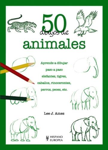 animales 50 dibujos de, lee j. ames, hispano europea