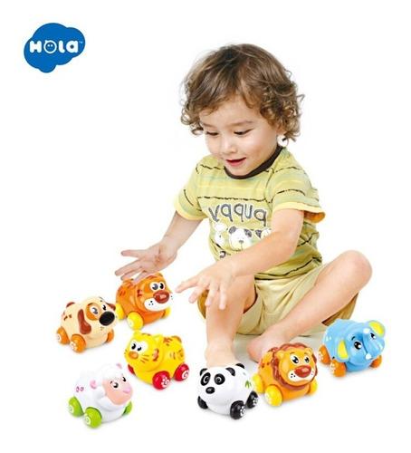 animales a friccion varios modelos bebe hola 376 educando