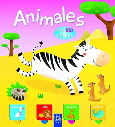 animales. con 100 solapas; yoyo
