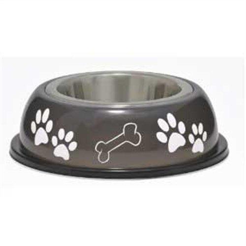 animales de compañía dolce dish dog bowl, small, 1 pint, es