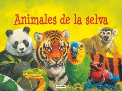 animales de la selva (animales desplegables)(libro infantil)