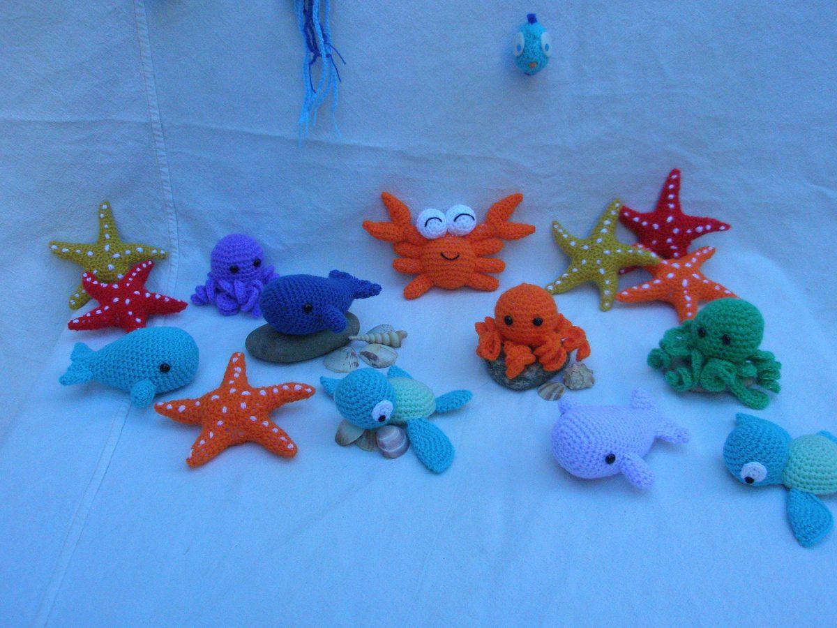 Llaveros Amigurumis Animales : Animales de mar llaveros amigurumi en mercado libre