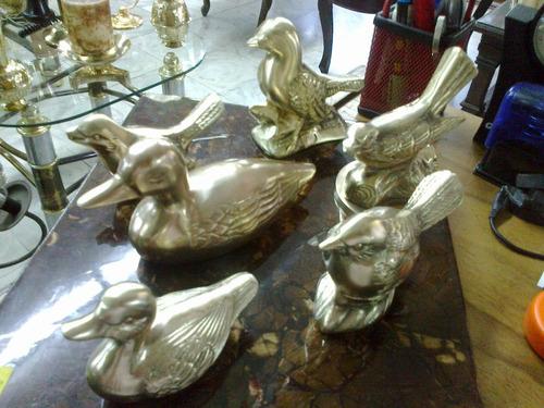animales en bronce antiguos decorativos precio x cada uno