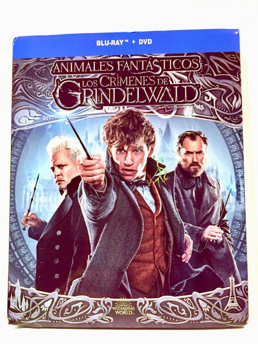 animales fantasticos los crimenes de grindelwald  bluray dvd