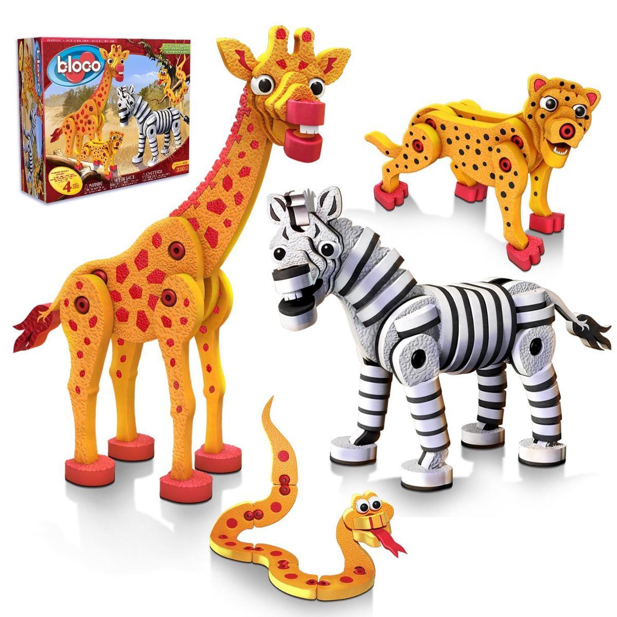 animales sabana armables juguetes para nios foamy bloco