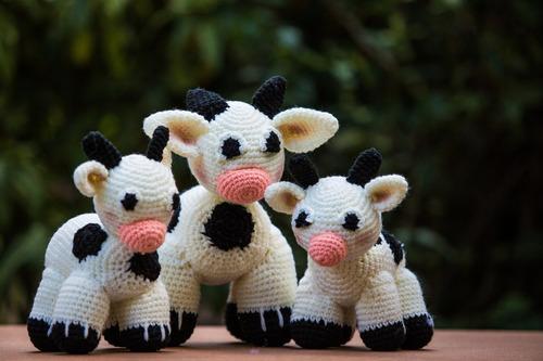 animales tejidos al crochet. en lote  por unidad