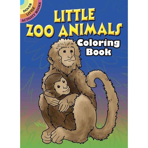 animalitos de zoológico libro para colorear