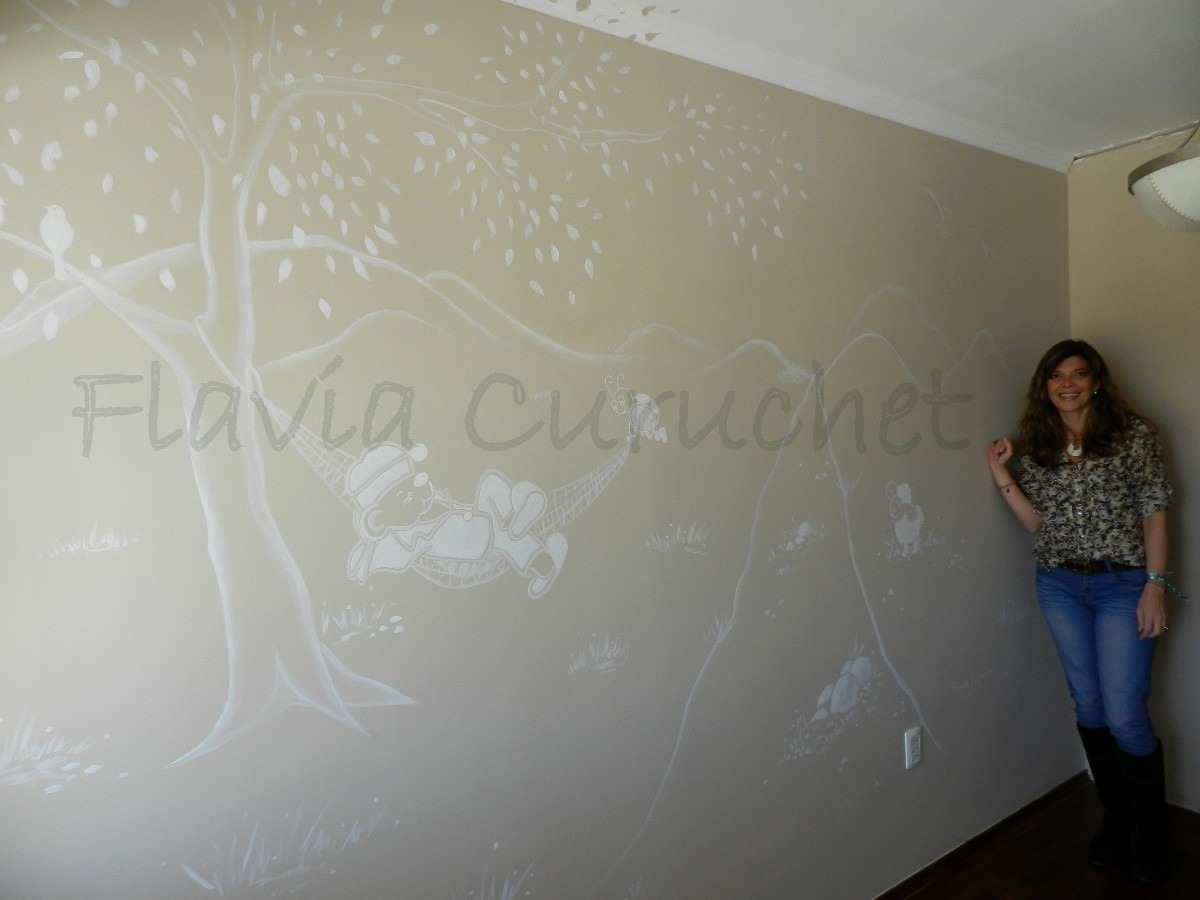Animate a pintar murales en las paredes en mercado libre - Paredes pintadas a cuadros ...