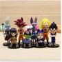 Set 8 Figuras De Dragon Ball Super Película Bills Whis Goku