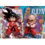 Son Goku Y Krilin 22 Y 17cm Nuevos Dragon Ball Z Gt Kai