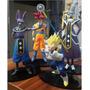 Dragon Ball Z Batalla De Los Dioses Pack 4 Figuras