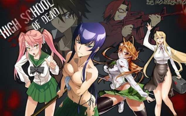 Anime Zombie porno