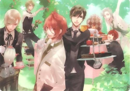 anime starry sky: mini poster de vinil